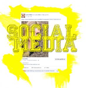 socialmedia überschriften grafik